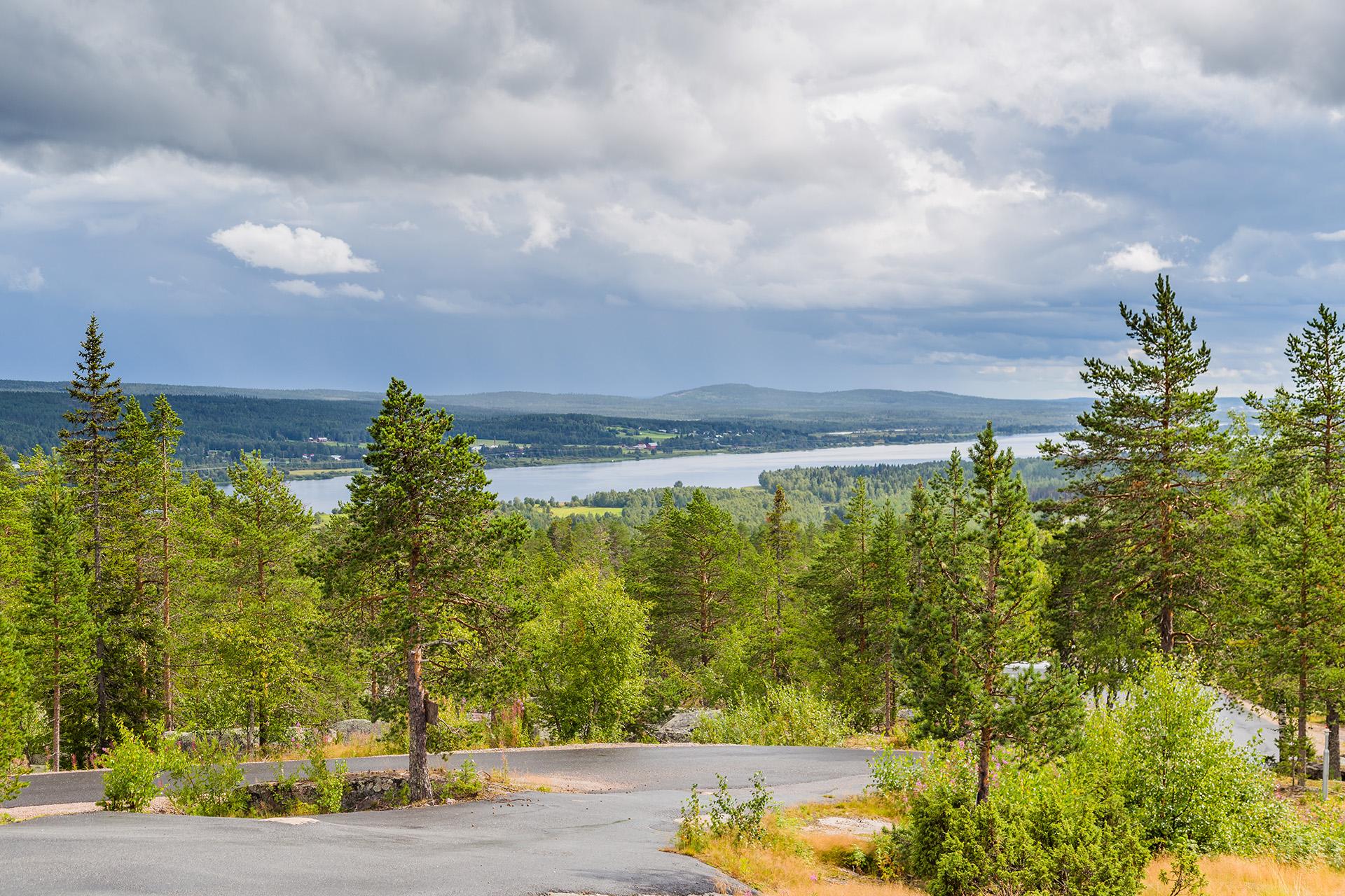Pellopuu luotomaisema Torniojoki